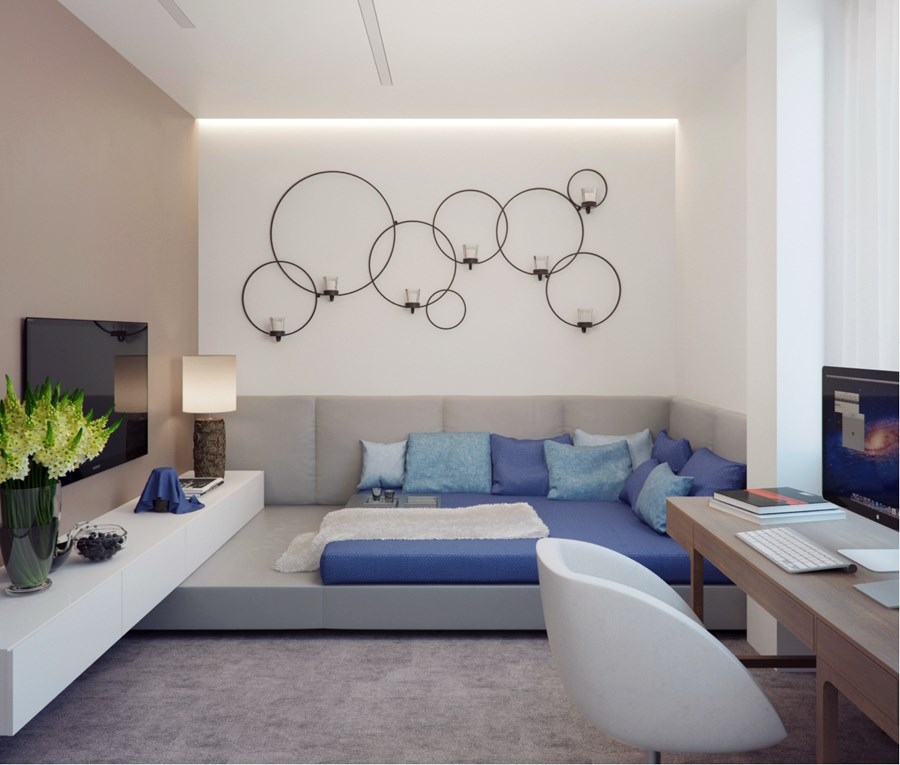 Apartment in Izmailovo by Alexandra Fedorova 06