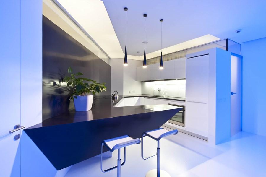 Apartment in Leninsky prospekt by Alexandra Fedorova 03