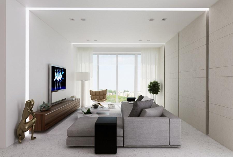Apartment in Mirax park by Alexandra Fedorova 01