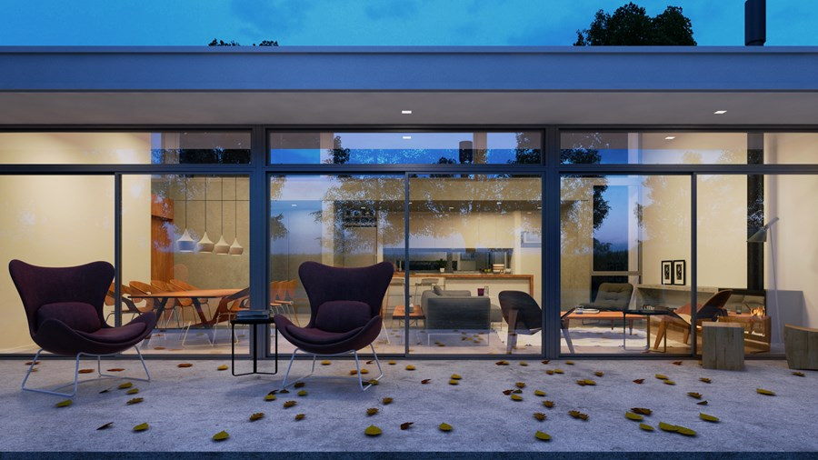 Memory house in Mercedes by +Arqs 03