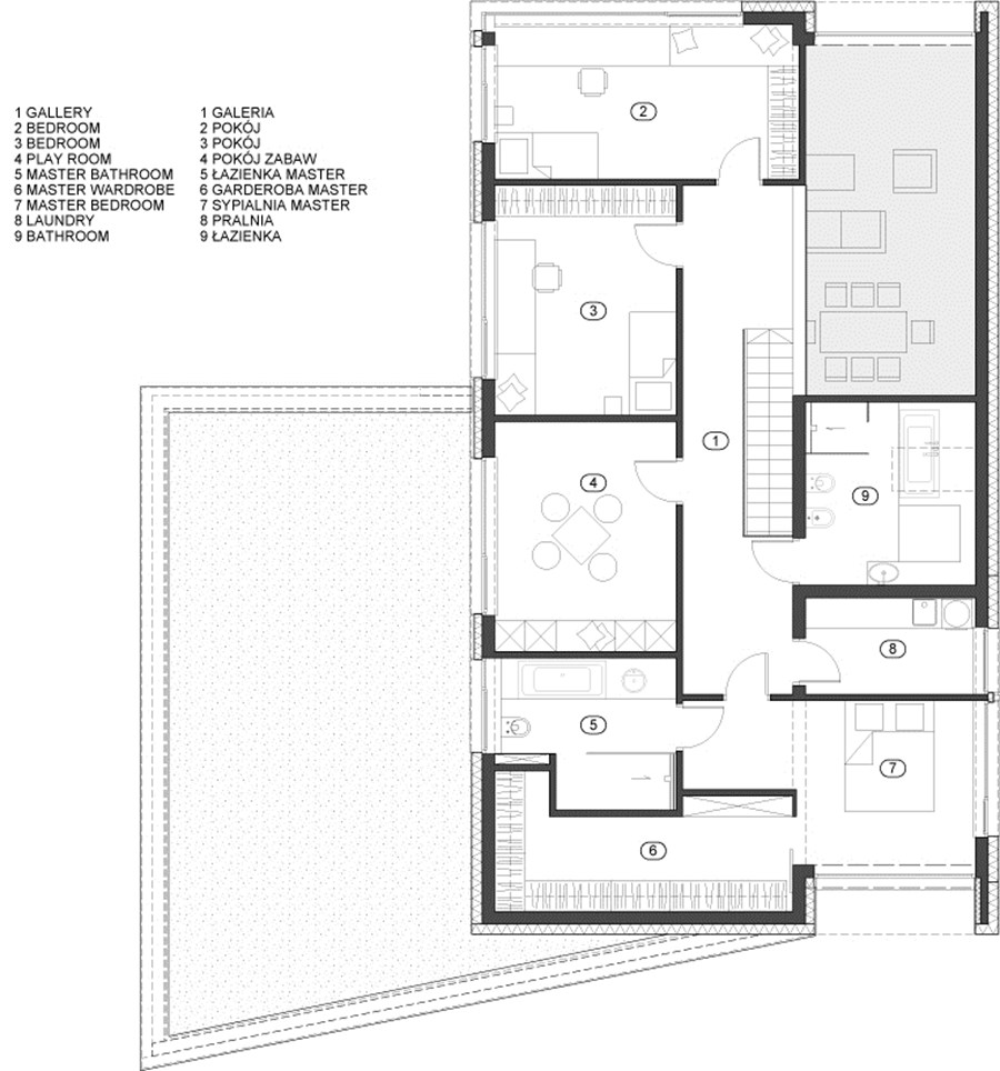 RYB house by BECZAK ARCHITEKCI 19