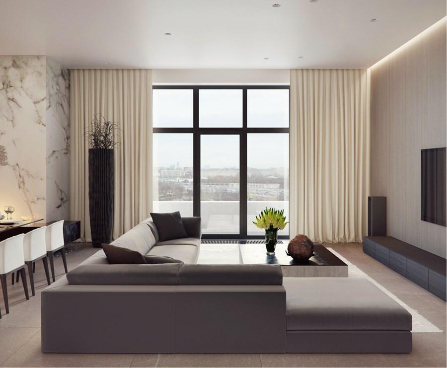 Apartment on Yakimanka by Alexandra Fedorova 03