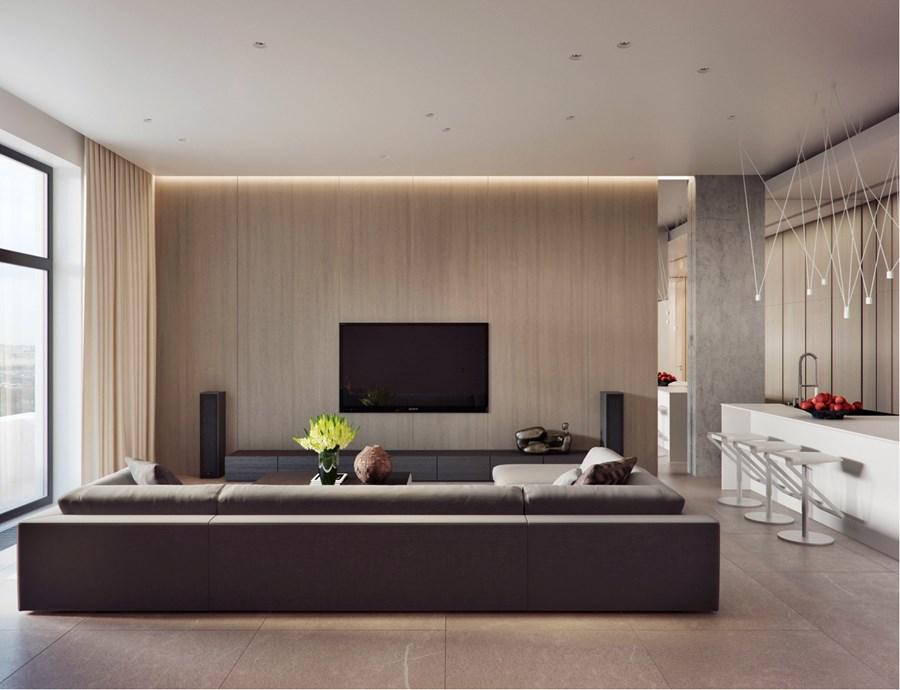 Apartment on Yakimanka by Alexandra Fedorova 04