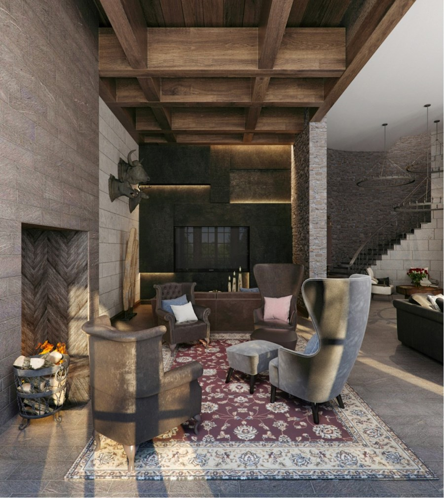 Country residence in Tbilisi by Alexandra Fedorova 05