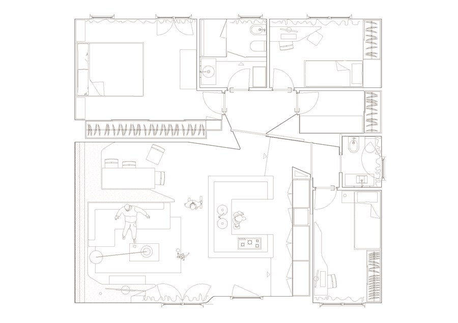 TLI house by Architettura Matassoni 20