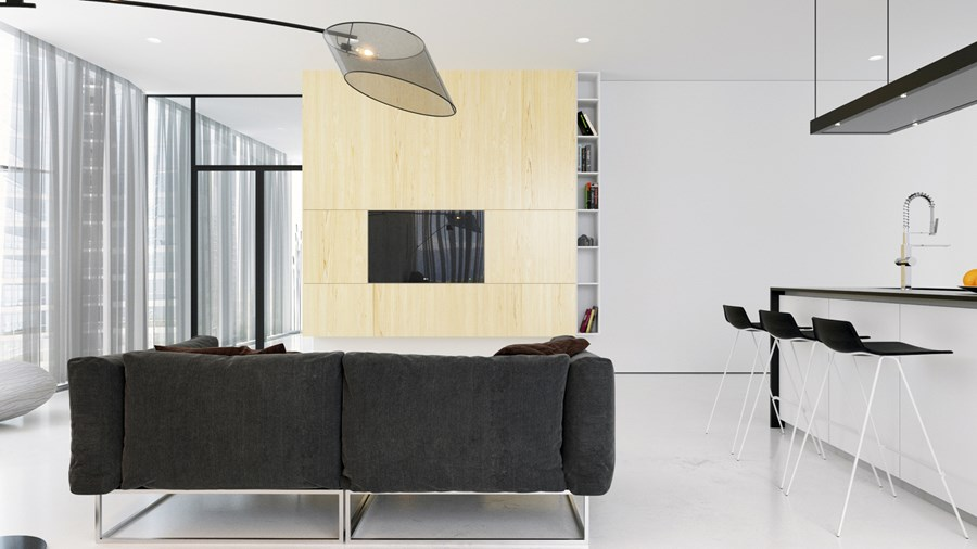Esentai Apartment by Lenz Architects 04