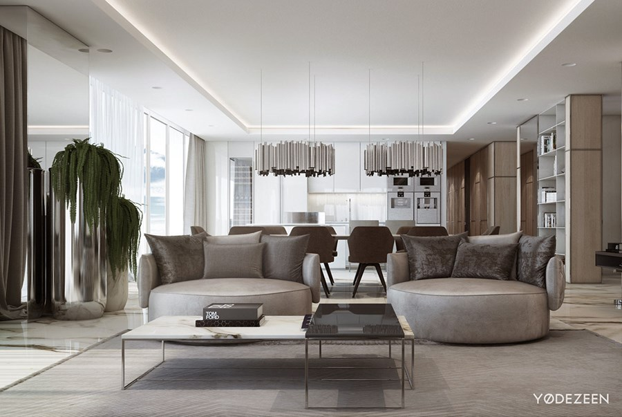 Luxurious residence in Miami by YoDezeen 01