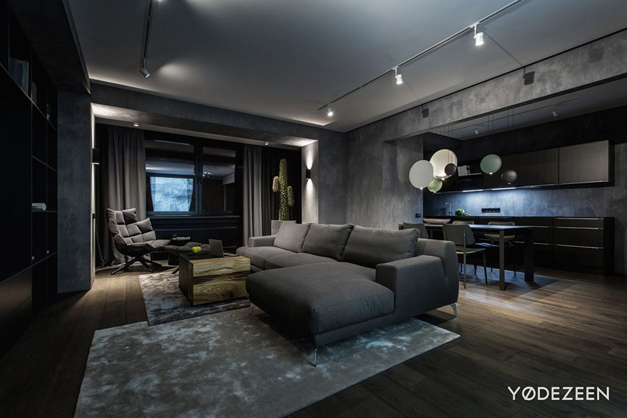 Modern home interior by YoDezeen 01