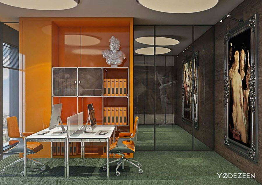 Office in Moscow by YoDezeen 19