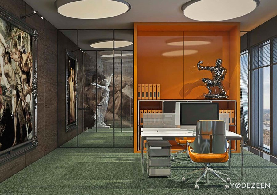 Office in Moscow by YoDezeen 21