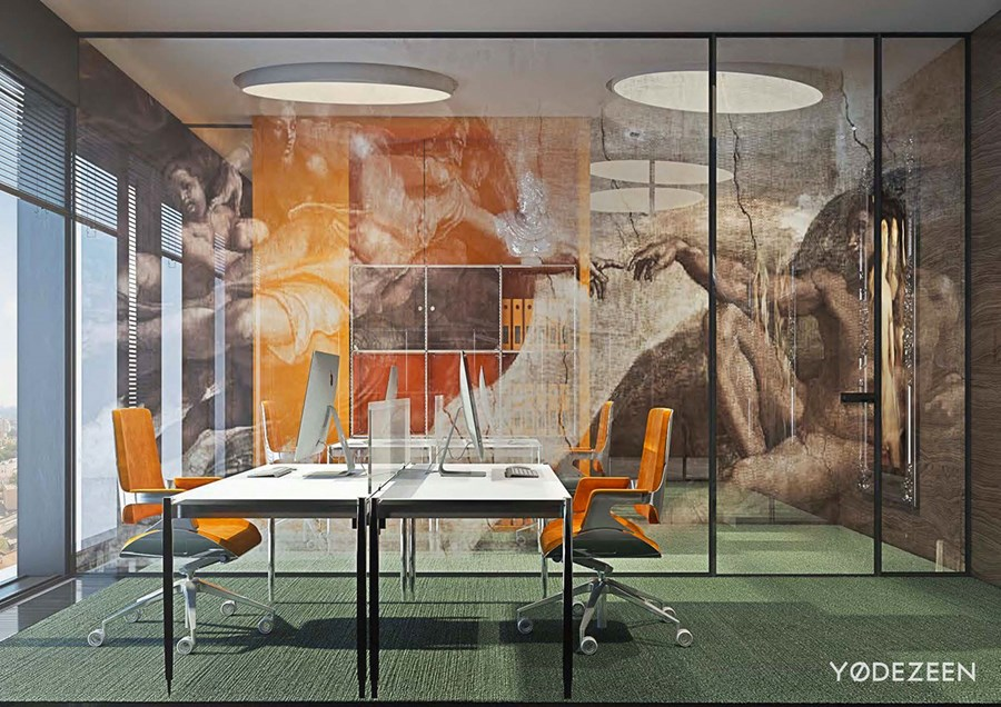 Office in Moscow by YoDezeen 26