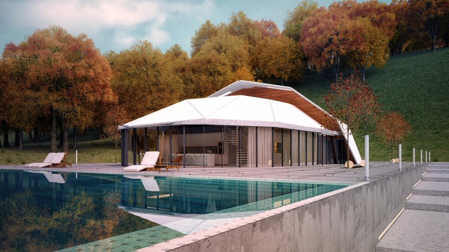 Shell House by Lenz Architects 03
