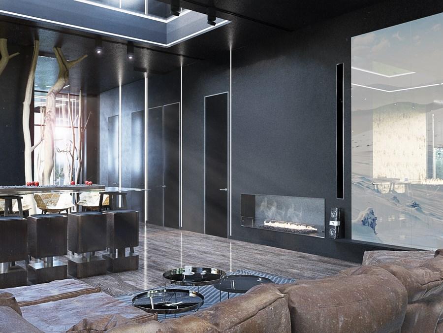Black Box house interior by O.M. Shumelda 02