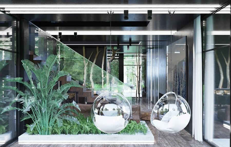 Black Box house interior by O.M. Shumelda 03