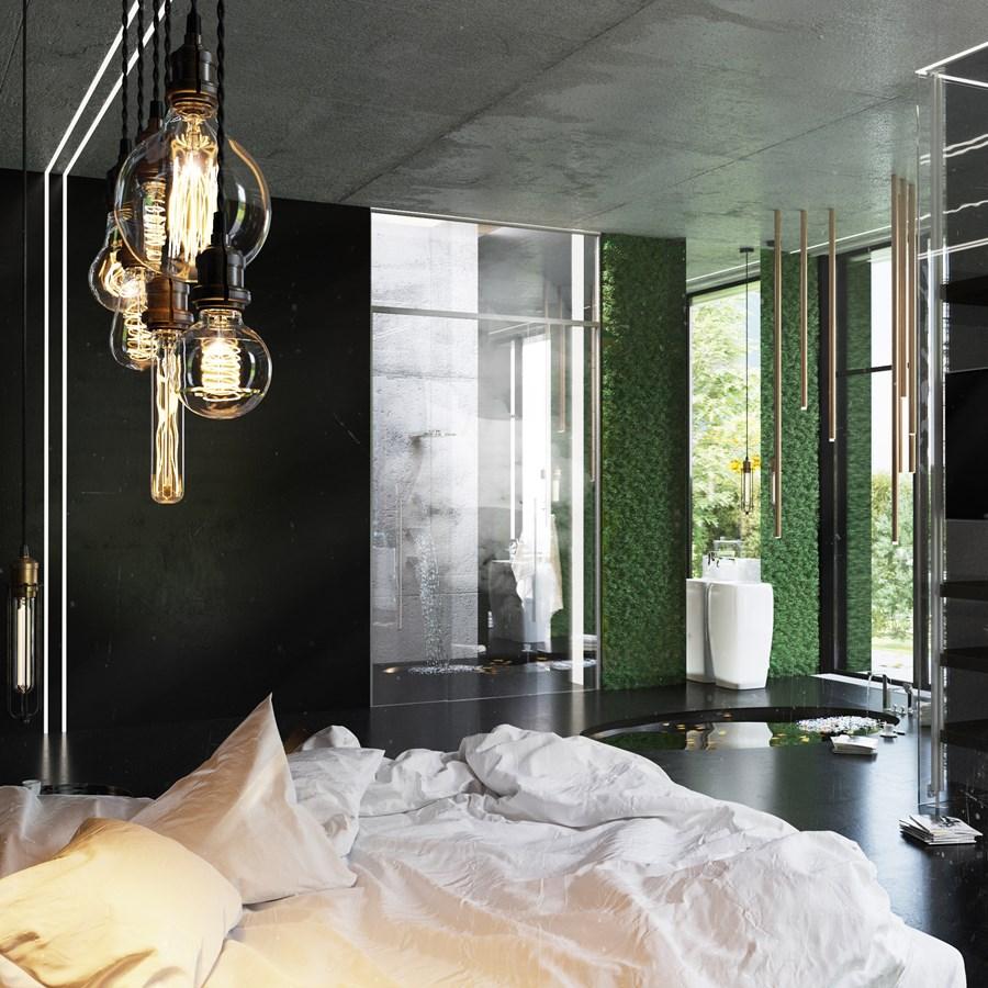 Black Box house interior by O.M. Shumelda 09