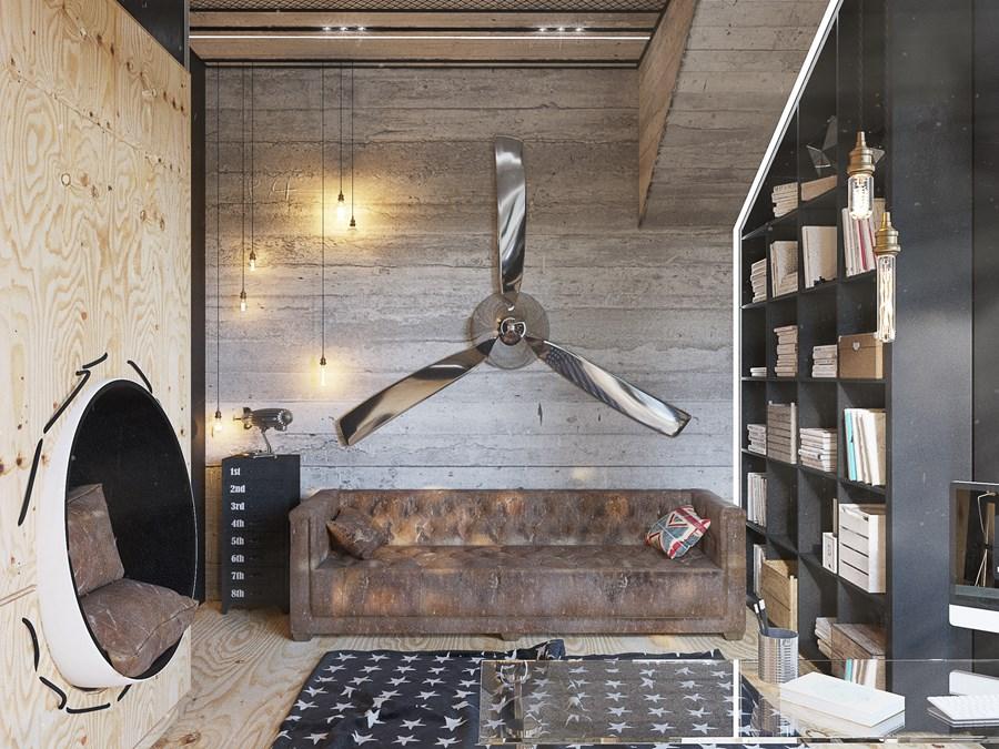 Black Box house interior by O.M. Shumelda 10