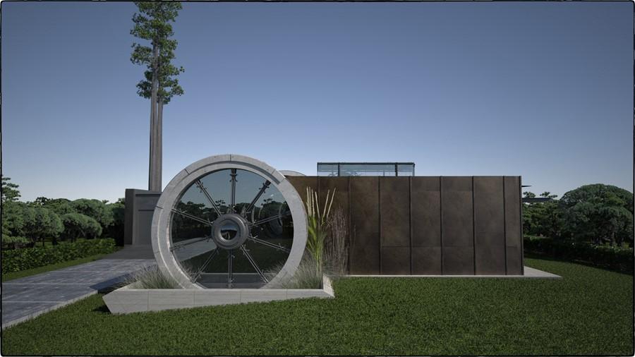 Concrete Tube House by Razvan Barsan + Partners 07