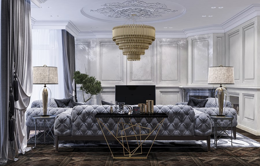 Luxury Design In The Neoclassical Style By Building