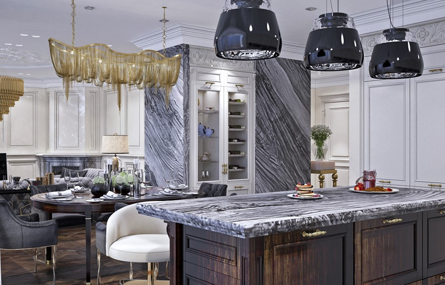 Luxury design in the neoclassical style by Building Evolution 03