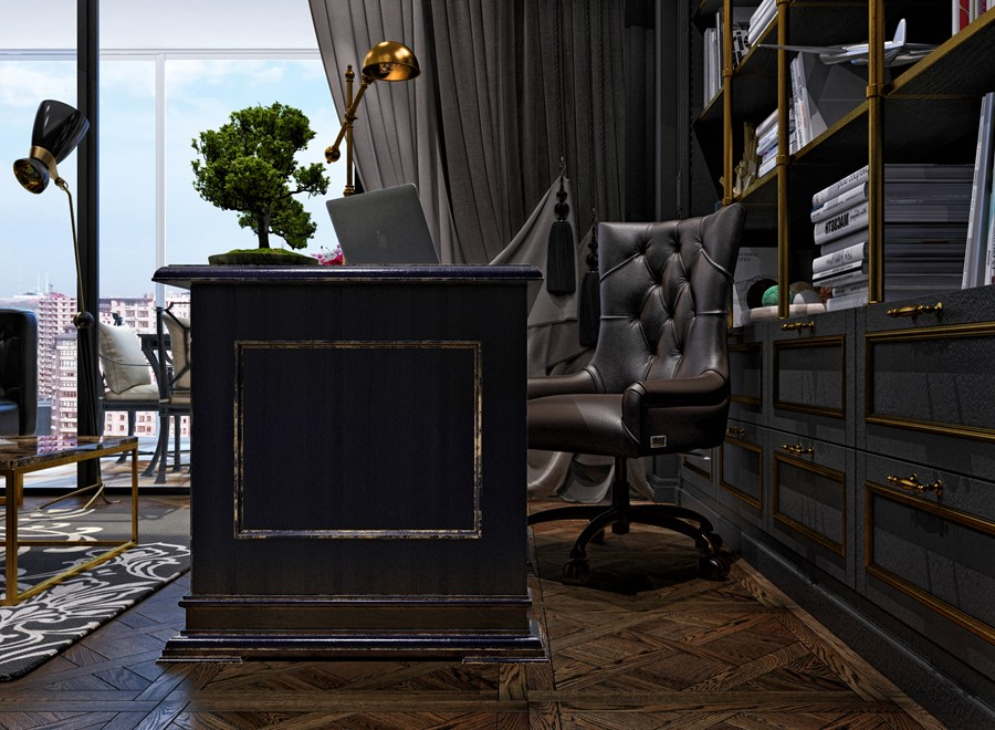 Luxury design in the neoclassical style by Building Evolution 06