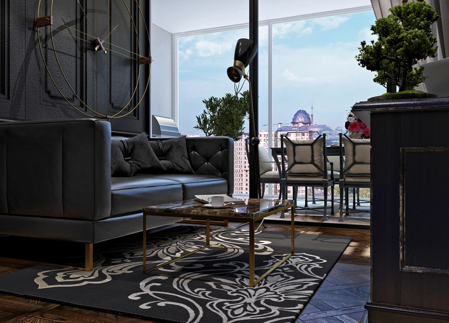 Luxury design in the neoclassical style by Building Evolution 07