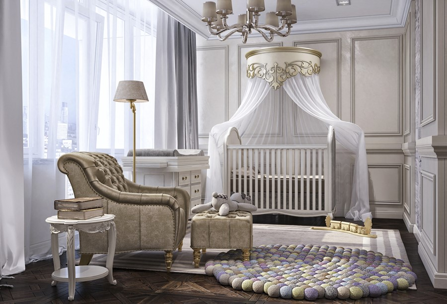 Luxury design in the neoclassical style by Building Evolution 08