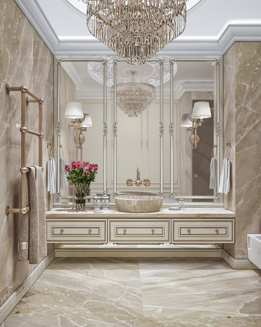 Classical Home Design Idea: Luxury Design In The Neoclassical Style By Building