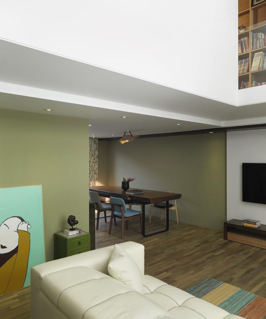 2 storey apartment by Hozo Interior Design 08