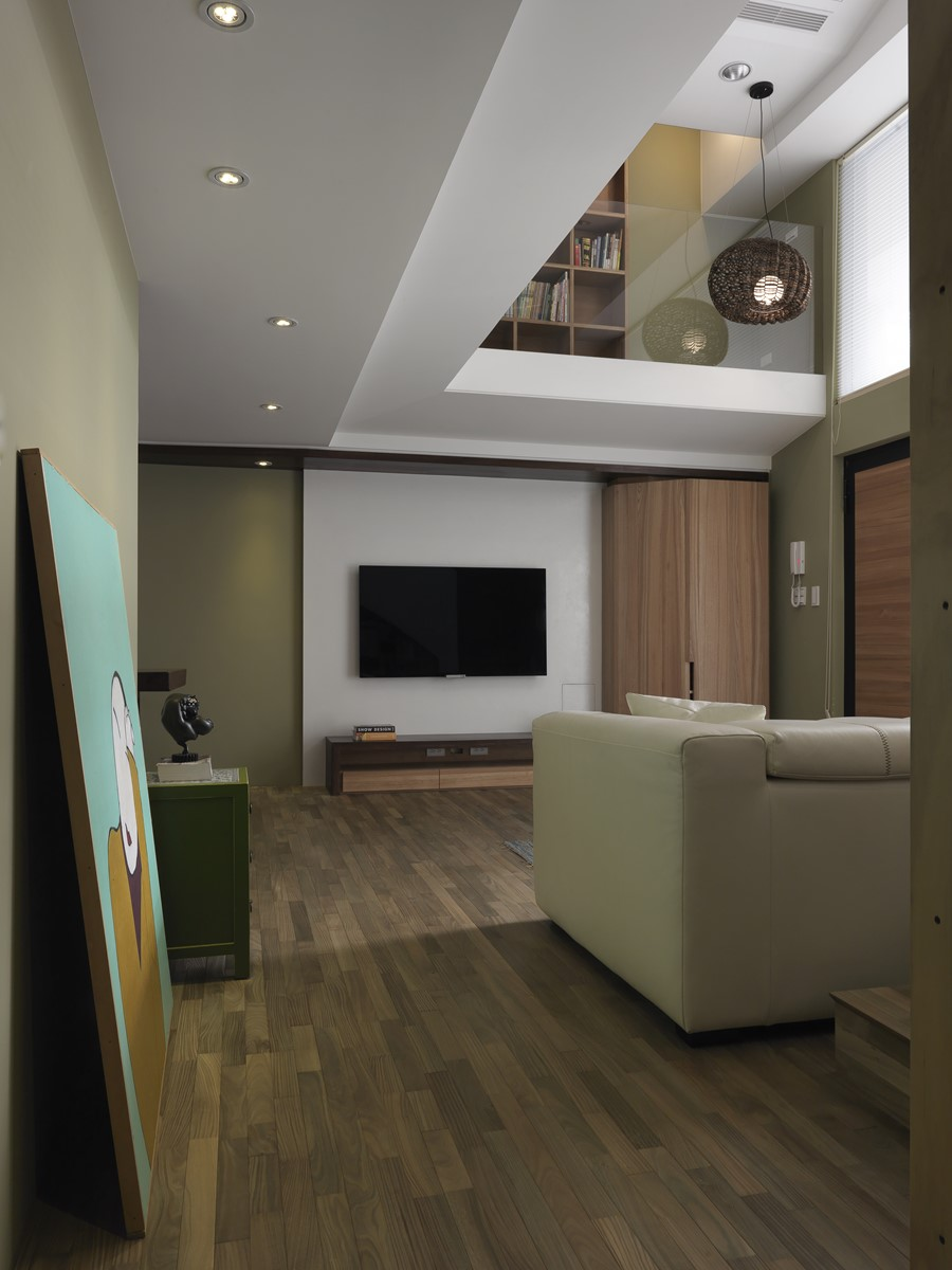 2 storey apartment by Hozo Interior Design 11