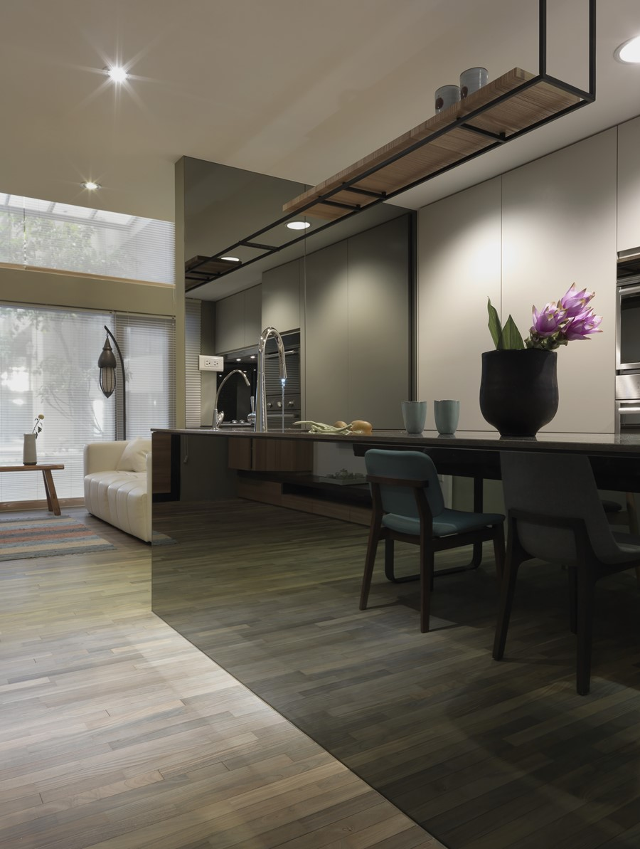 2 storey apartment by Hozo Interior Design - MyHouseIdea