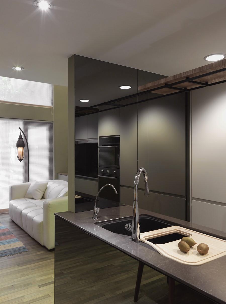 Flexi 2 Room Interior Design: 2 Storey Apartment By Hozo Interior Design