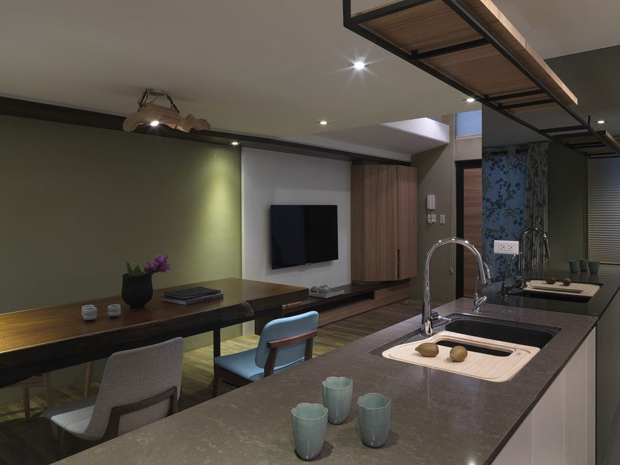 2 storey apartment by Hozo Interior Design 18