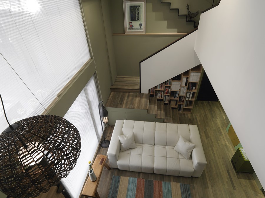 2 storey apartment by Hozo Interior Design 21