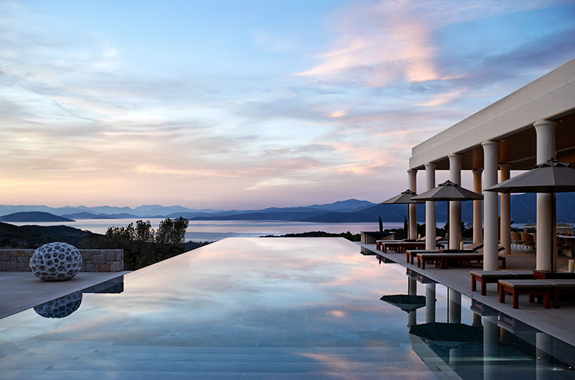 Amanzoe Residences, Inspired By Traditional Greek Architecture 02