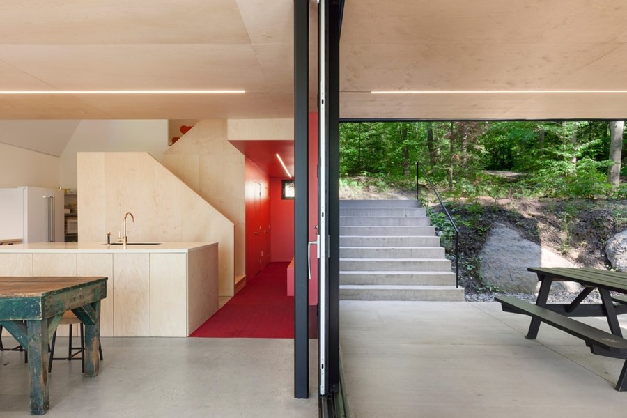 FAHOUSE by Jean Verville architecte 14