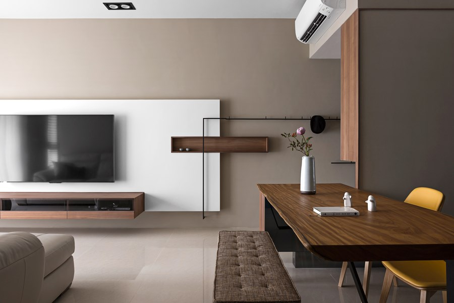 Japanese living in Taiwan by HOZO interior design 02