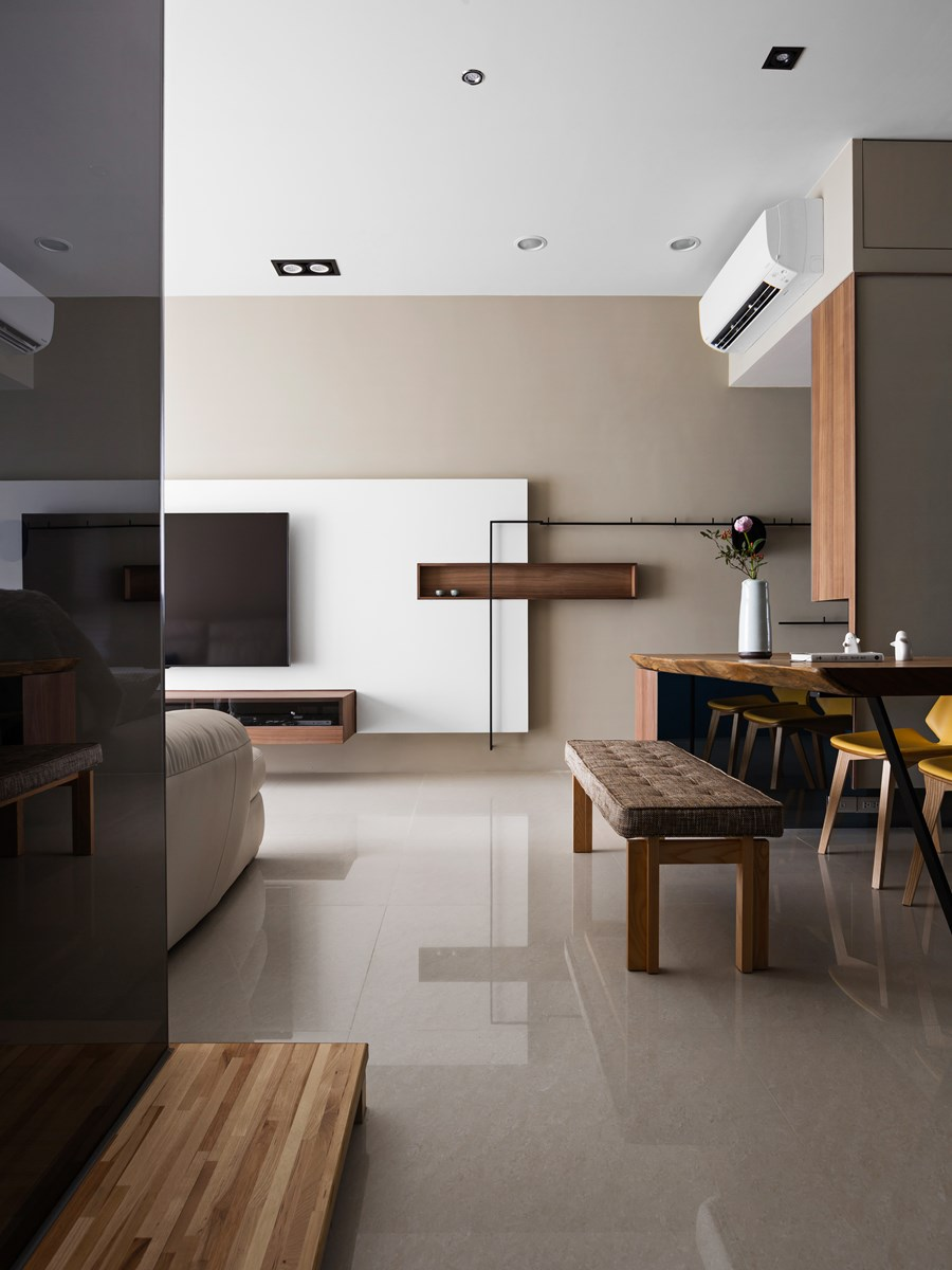 Japanese living in taiwan is a project designed by myhouseidea - Interior design onsquare meters solutions from taiwan ...
