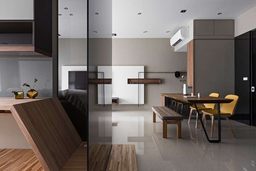 Japanese living in Taiwan by HOZO interior design 04
