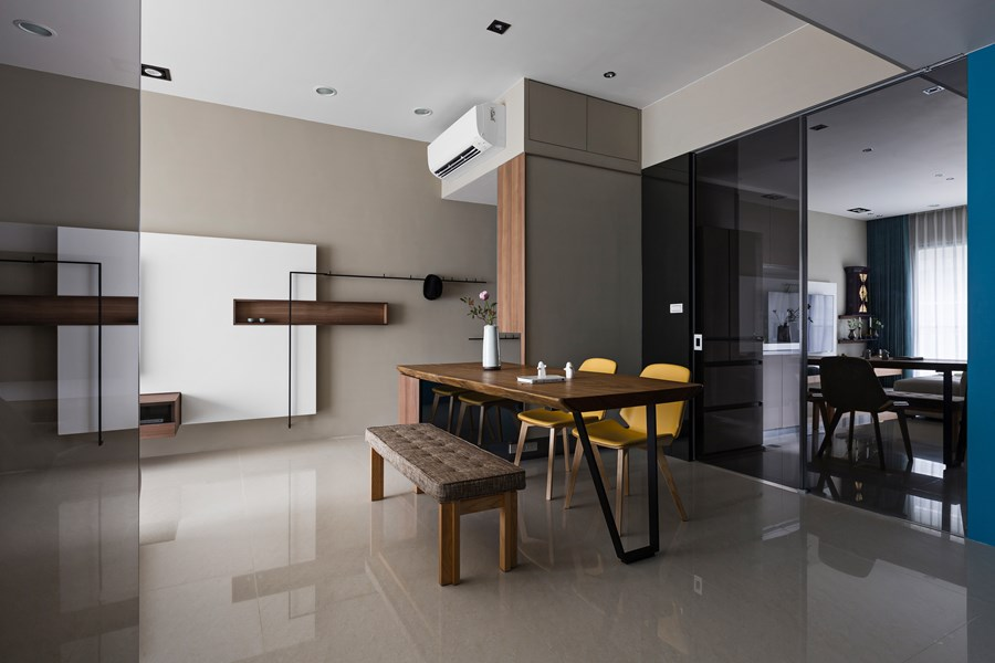 Japanese living in Taiwan by HOZO interior design 06