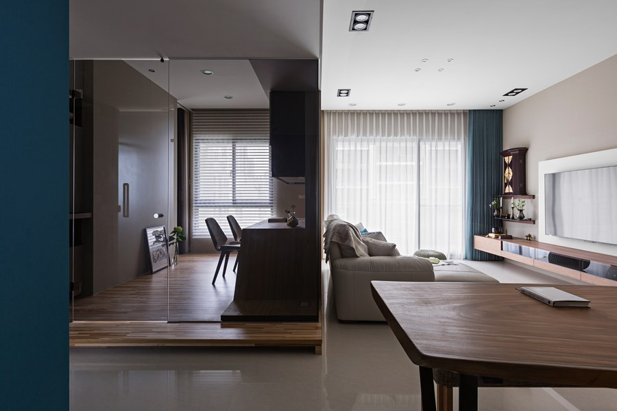 Japanese Living In Taiwan By HOZO Interior Design