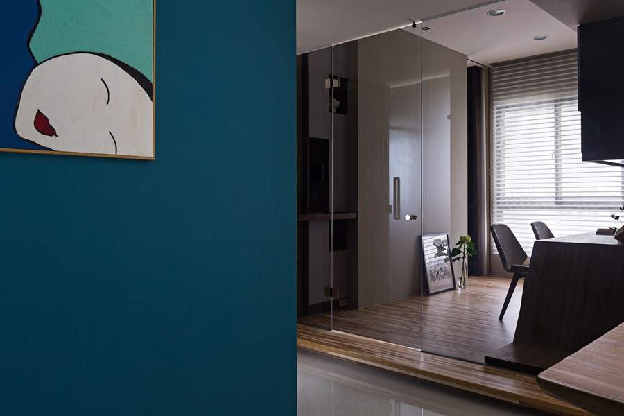 Japanese living in Taiwan by HOZO interior design 10