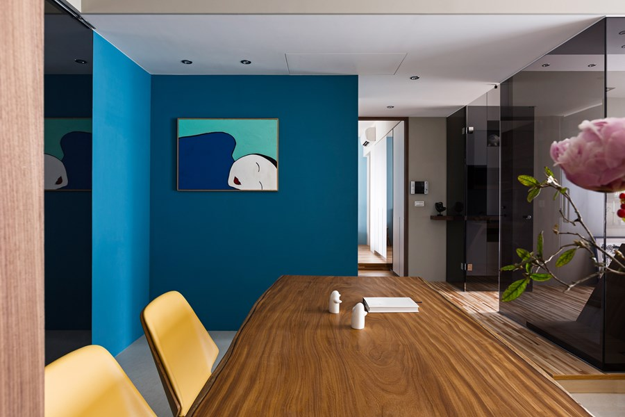 Japanese living in Taiwan by HOZO interior design 11