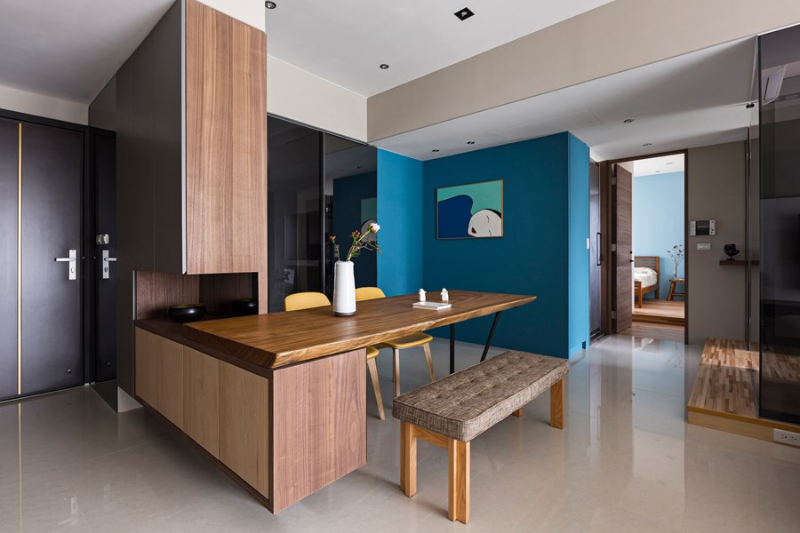 Japanese living in Taiwan by HOZO interior design 12