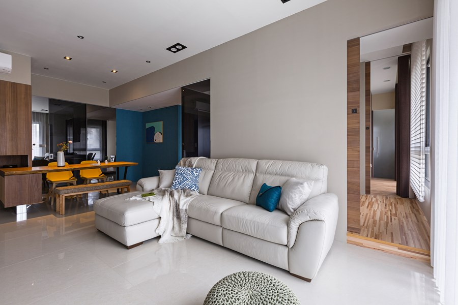 Japanese living in Taiwan by HOZO interior design 13