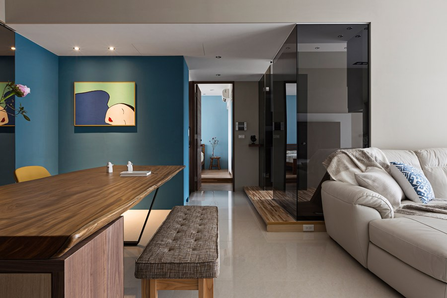Japanese living in Taiwan by HOZO interior design 20