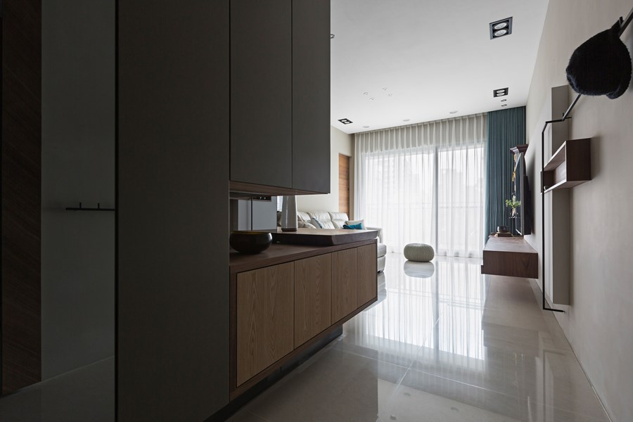 Japanese living in Taiwan by HOZO interior design 22