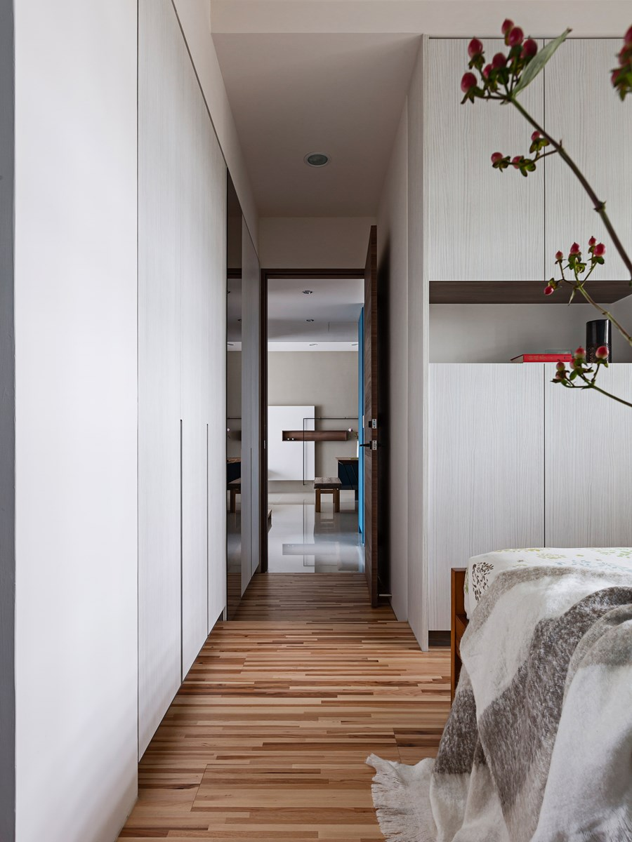 Japanese living in Taiwan by HOZO interior design 30