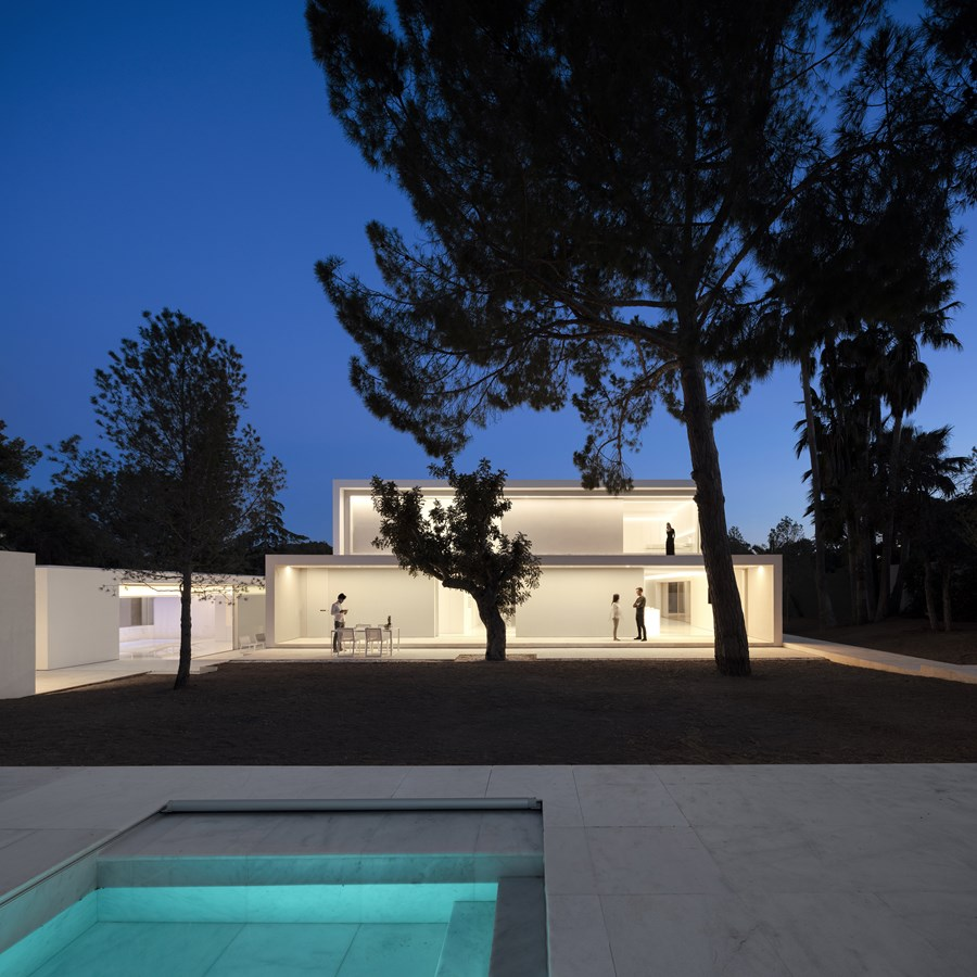 House between the pine forest by Fran Silvestre Arquitectos 02