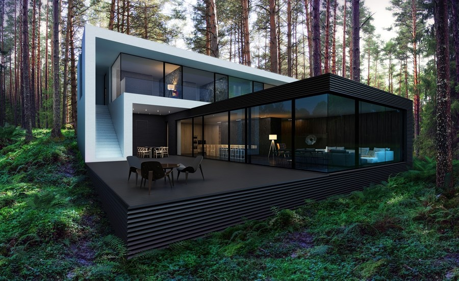 House In The Woods By Alexanderzhidkov Myhouseidea