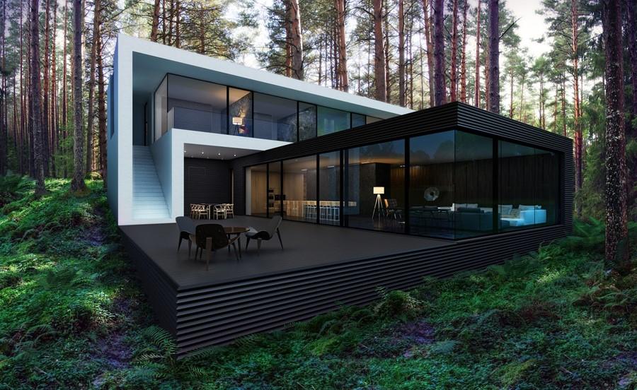House In The Woods By Alexanderzhidkov Myhouseidea